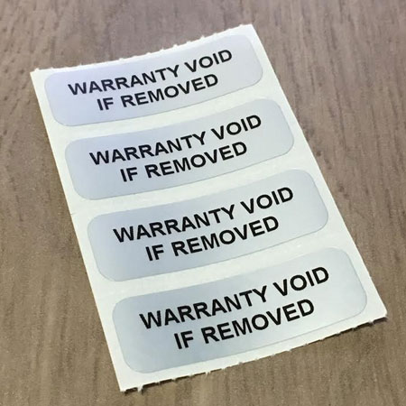 Void Imprint Stickers (Void if Removed)